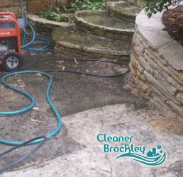 stone patio cleaning brockley